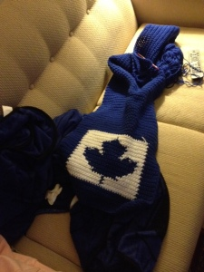 Toronto Maple Leafs scarf